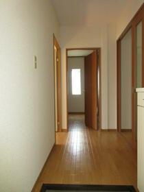 ウインディアM5号棟 21号室の玄関