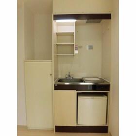 サテライトビル 0201号室のキッチン