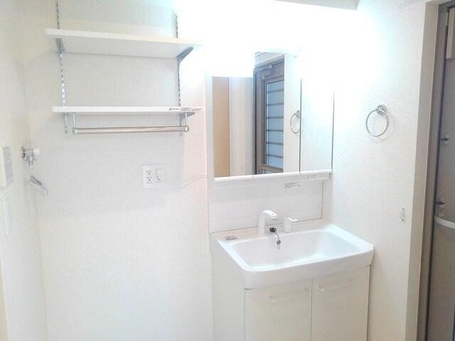 ティータウン Ⅱ 02060号室の洗面所