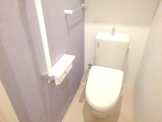 ティータウン Ⅱ 02060号室のトイレ