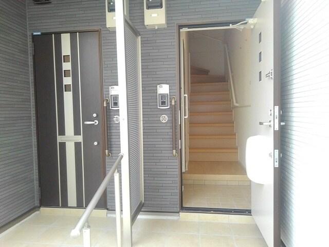 ティータウン Ⅱ 02060号室の玄関