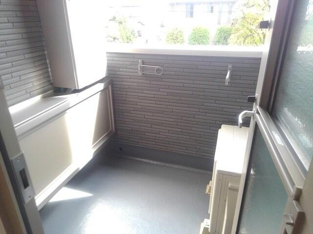 ティータウン Ⅱ 02060号室のバルコニー