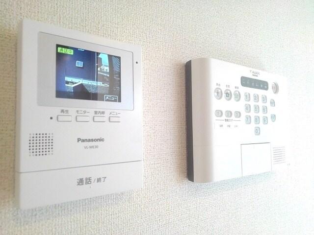 ティータウン Ⅱ 02060号室のセキュリティ