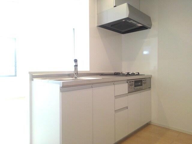 ティータウン Ⅱ 02060号室のキッチン