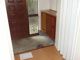 石井様貸家 2分1棟の玄関