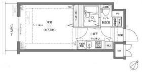 フェニックス横浜関内BAY MARKS・712号室の間取り
