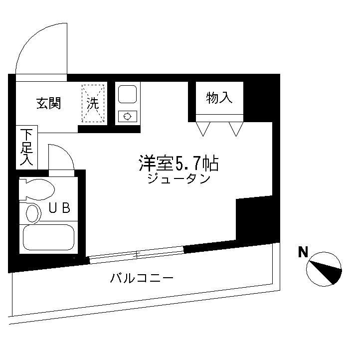 シーズ西横浜・903号室の間取り