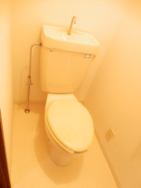 CITY OASIS IMAMURA 201号室のトイレ