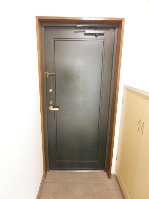 CITY OASIS IMAMURA 201号室の玄関