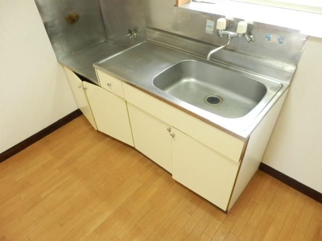 リバーサイドハイツ 102号室のキッチン