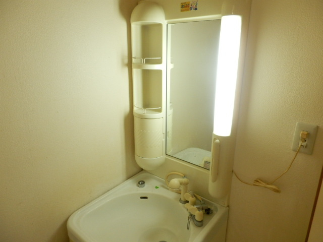 リバーサイドハイツ 102号室の洗面所