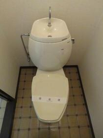 倉田ハイツ 103号室のトイレ