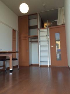 レオパレスサンデン2 104号室の収納