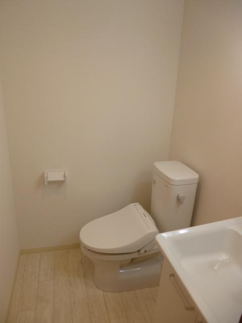 ラ・フロール鶴巻南 101号室のトイレ