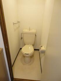 スリーキャニオン 402号室のトイレ