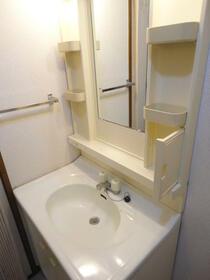 スリーキャニオン 402号室の洗面所