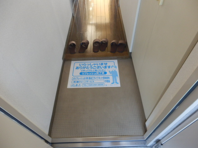 スカイコート 702号室の玄関