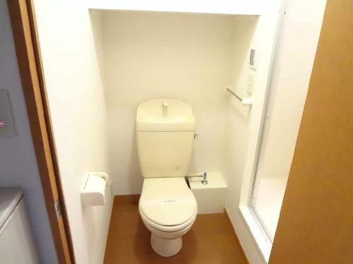 レオパレスピュアリストⅢ 204号室のトイレ