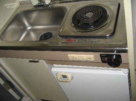 クラージュ湘南二宮 209号室のキッチン