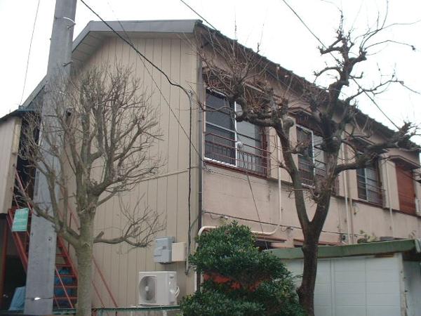 長谷川アパートの外観