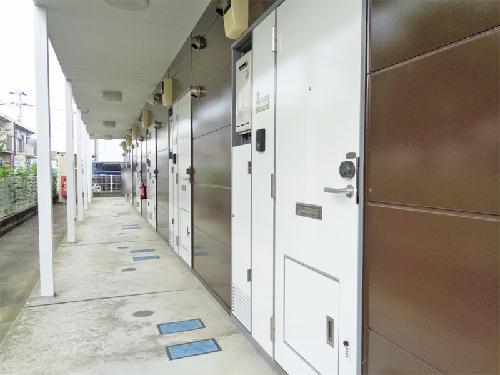 レオパレスサニーヴィラA 102号室の玄関