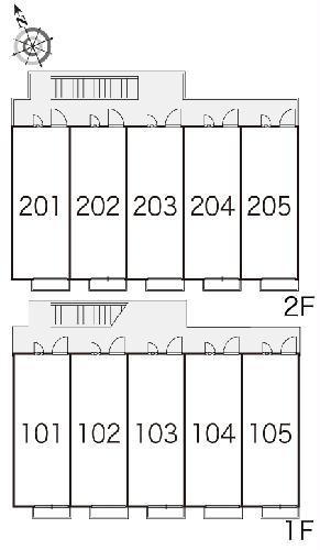 レオパレスプレミール 202号室のその他共有