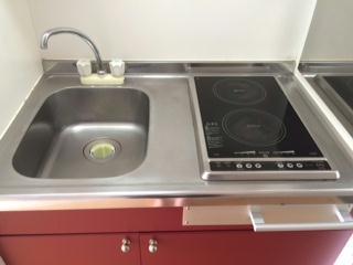 レオパレスプレミール 202号室のキッチン