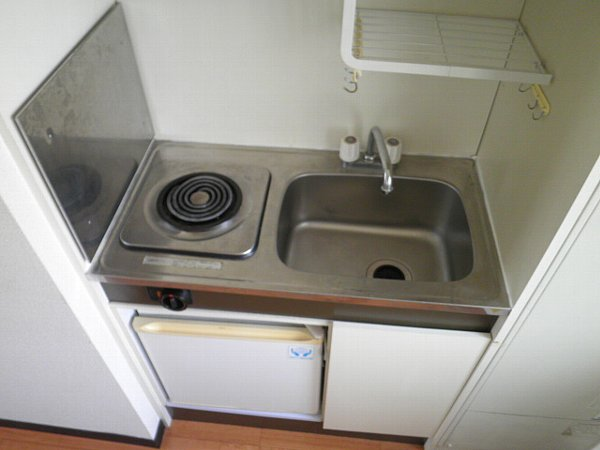 誠心ビル 405号室のキッチン