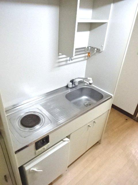 パルーム金ヶ作 205号室のキッチン