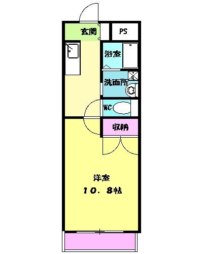 ラ・ルアージュ・102号室の間取り