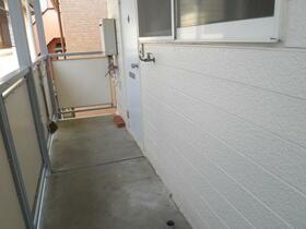 コーポ中村 202号室の景色