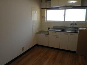コーポ中村 202号室のキッチン