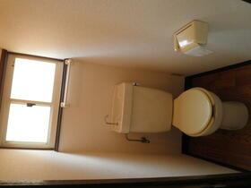 コーポ中村 202号室のトイレ