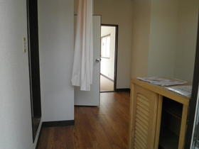 コーポ中村 202号室の玄関
