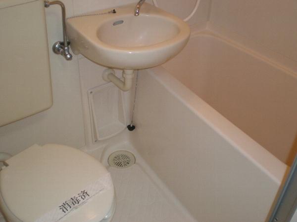 アプローズ新柏 102号室の風呂