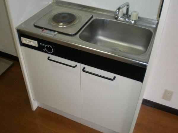 アプローズ新柏 102号室のキッチン