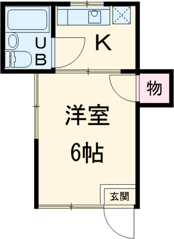 ヨシダコーポ・101号室の間取り