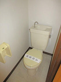 ガーデンヒルズ 301号室のトイレ