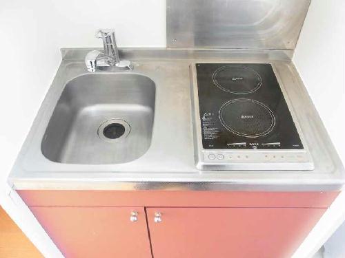 レオパレスサンデン7 104号室のキッチン