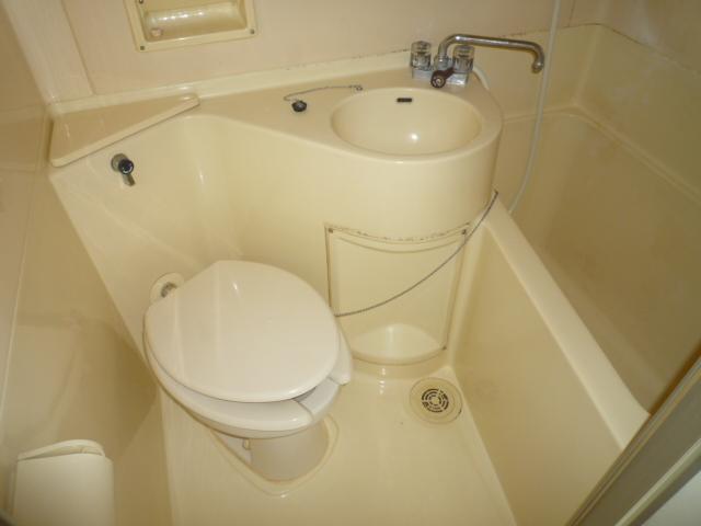 マインツインメル北柏 B-105号室のトイレ