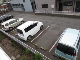 シャルム中村 203号室の駐車場