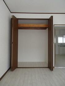 シャルム中村 203号室の収納