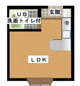 エルティオ新松戸・210号室の間取り