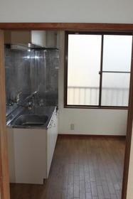 田中第2ビル 301号室のキッチン