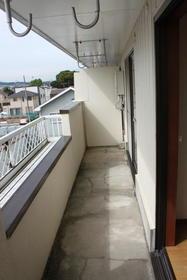 田中第2ビル 301号室のバルコニー