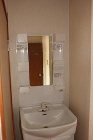 田中第2ビル 301号室の洗面所