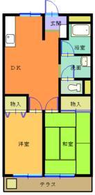高木第1ビル・303号室の間取り
