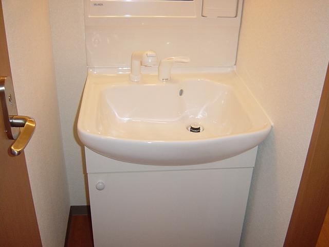ラ・プラティーク 102号室の洗面所