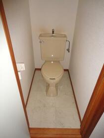 エスコートパートⅡ 206号室のトイレ