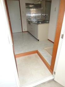 エスコートパートⅡ 206号室の玄関